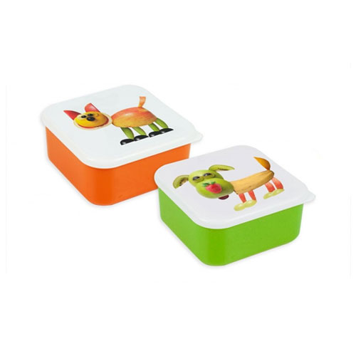 Assorted Fruit Animal Lunch Box