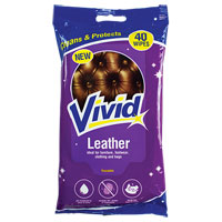 Leather Cleaning Wipes 40 Pack