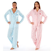 Ladies Star Print Pyjamas