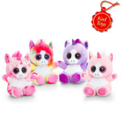 Animotsu Unicorn Assorted Soft Toy
