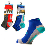 Mens Pro Hike Trainer Socks Assorted Colours