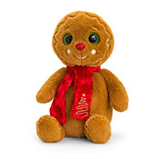 20cm Gingerbread Man With Scarf Soft Toy