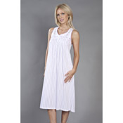 Candy Stripe Sleeveless Nightie