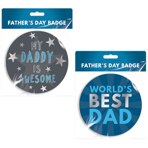 Fathers Day Badge
