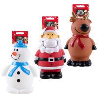 Christmas Vinyl Dog Toys