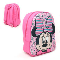 Official EVA Shaped Minnie Mouse 3D Backpack