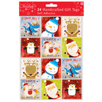 Cute Handcrafted Gift Tags 24 Pack