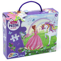 Princess & Unicorn Puzzle 45 Pieces