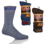 Cotton Rich Hiking Socks