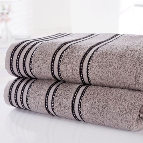 Sirocco Luxury Cotton Bath Towels Charcoal