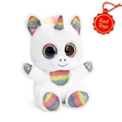 15cm Animotsu Rainbow Sparkle Unicorn Soft Toy