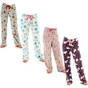 Ladies All Over Print Lounge pantsWith Elasticated Waist Animals