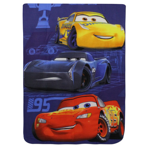 Official Disney Cars Fleece Blanket
