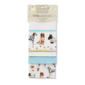 Dogs Best in Show 3 Pack Tea Towels