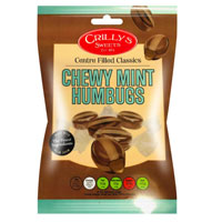 Mint Humbugs Crillys Sweets 130g Bag