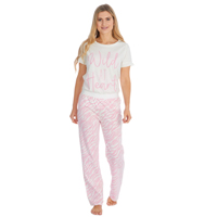Ladies Wild T-Shirt And Pants Set