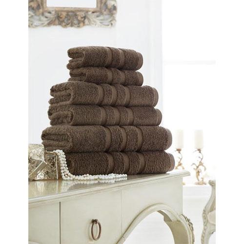 Supreme Cotton Bath Towels Cocoa