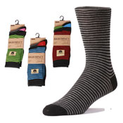 Mens Thin Stripe Socks