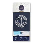 Coastal Home Tea Towels 3 Pack