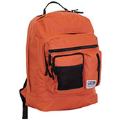 Official JCB Front Zip Compartment Backpack Orange