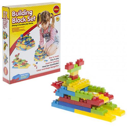 250 Piece Building Brick Set