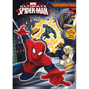 Ultimate Spiderman Sticker Pad