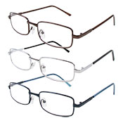 Slim Frame Reading Glasses Assorted