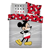 Official Mickey Mouse Heritage Reversible Duvet Set