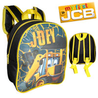 Official Joey JCB Nursery Mini Backpack Black