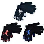 Boys Thermal Magic Sports Gripper Gloves