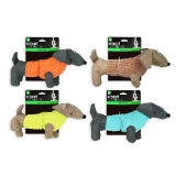 Plush Sausage Dog Toy With Squeaker