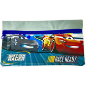 Cars Race Ready Flat Pencil Case