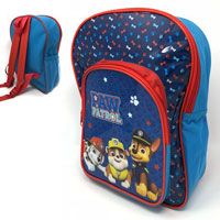 Official Deluxe Backpack Paw Patrol With Pocket