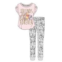 Ladies Official Winnie The Poo Pyjamas Friends Forever