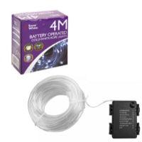 40 LED Rope Lights Cold White