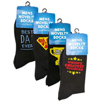 Fathers Day Novelty Socks