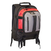 JCB Heavy Duty Full Strap Backpack Red