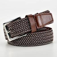 Brown Fleck Stretchy Belt