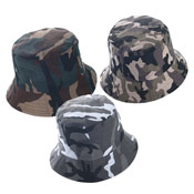 Kids Camo Bush Hat