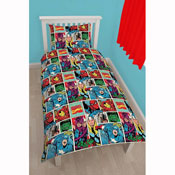 Marvel Comics Strike Reversible Duvet Set