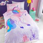 Unicorn Panel Duvet Set