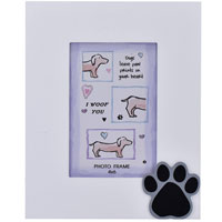 Dog Paw Print Photo Frame