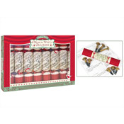 8 Musical Whistle Christmas Crackers