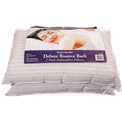 2 Pack Hotel Quality Hollowfibre Pillows