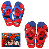 SpiderMan Flip Flops