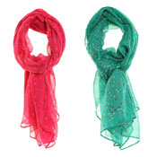 Fashion Scarf Small Dot Print