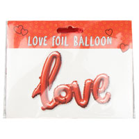 Valentines Day Love Foil Balloon