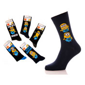 Despicable Me Minions Mens Socks