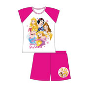 Older Girls Princess Shorties Pyjamas