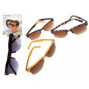 Rimless Classic Style Plastic Sunglasses